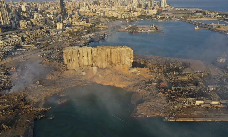 Beirut Port explosion created a 43-metre deep crater