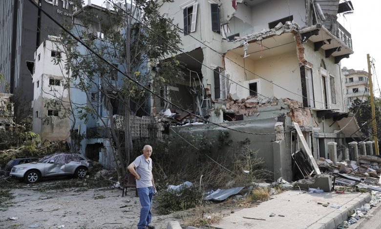 QRCS start repairing homes damaged by Beirut explosion
