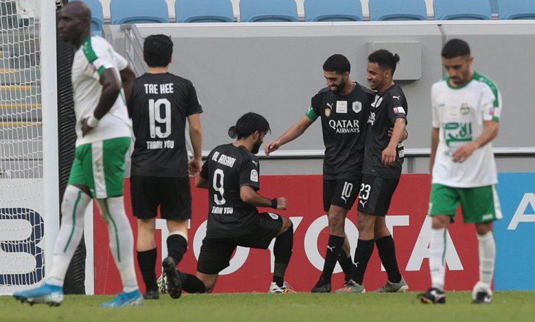 Al Haydos grants Al-Sadd a difficult victory against Al Ahli