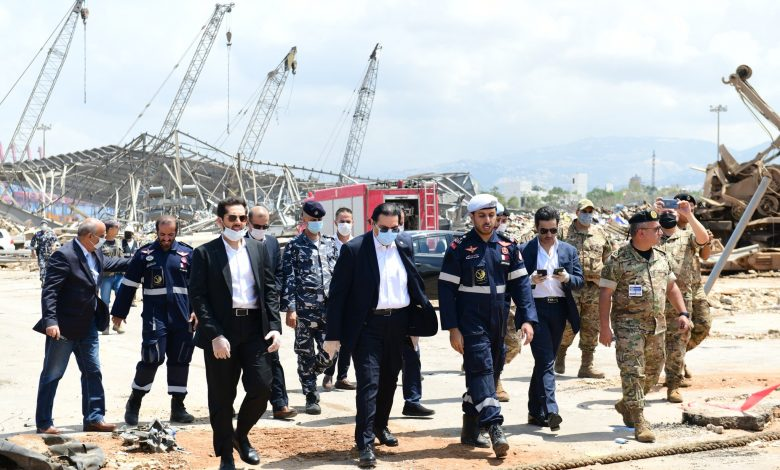 Lekhwiya team recovers first body of Lebanese soldier in Beirut port