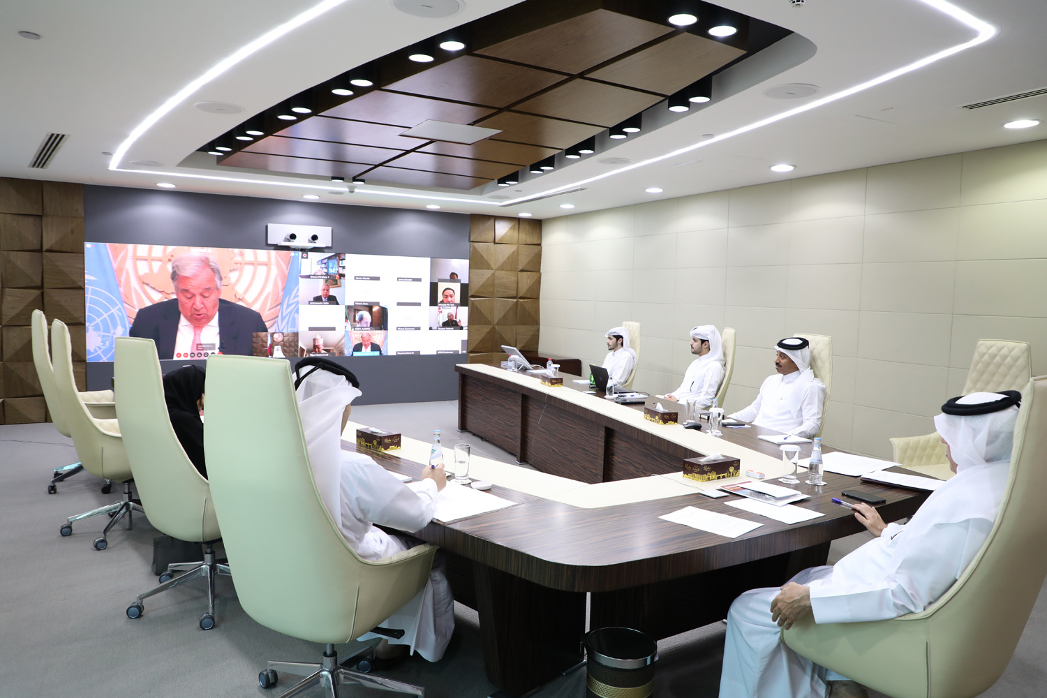 Qatar takes part in virtual briefing on humanitarian situation in Lebanon
