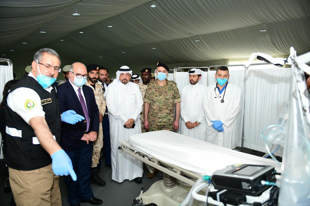 First Qatari field hospital in Beirut inaugurated