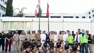Photo of First Qatari field hospital in Beirut inaugurated