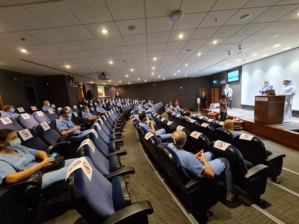 Aspetar honors healthcare workforce fighting against COVID-19