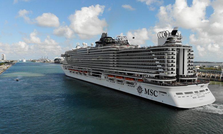 MSC Grandiosa: First Mediterranean cruise launches after ...