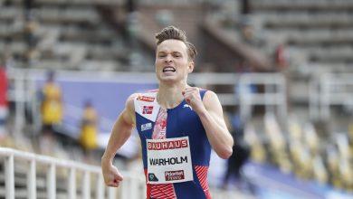 Photo of Karsten Warholm Wins 2nd Best Time in 400M Hurdles