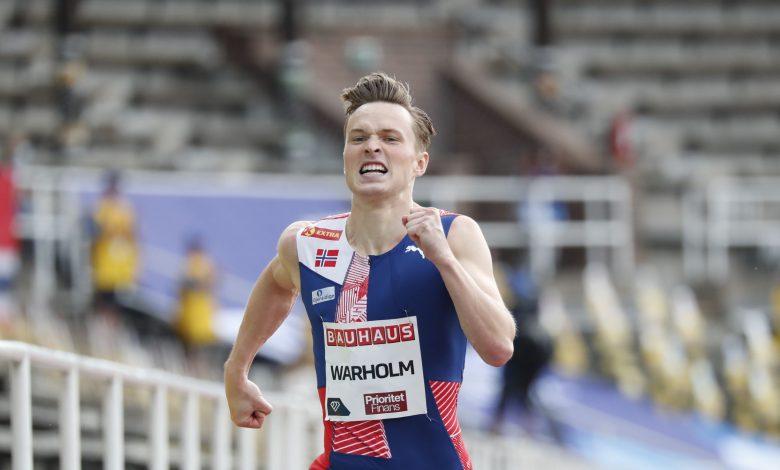 Karsten Warholm Wins 2nd Best Time in 400M Hurdles