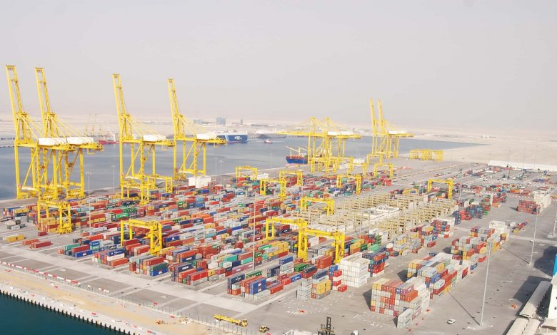 The arrival of First Vessel to Hamad Port's Container Terminal 2