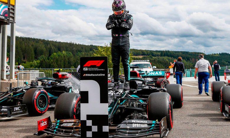 Lewis Hamilton Wins Formula 1 Belgian Grand Prix