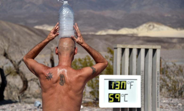 Death Valley .. highest temperature on earth recorded in this city