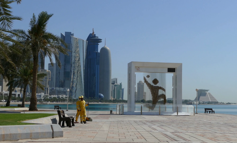 MME cleans Doha Corniche 3 times a day