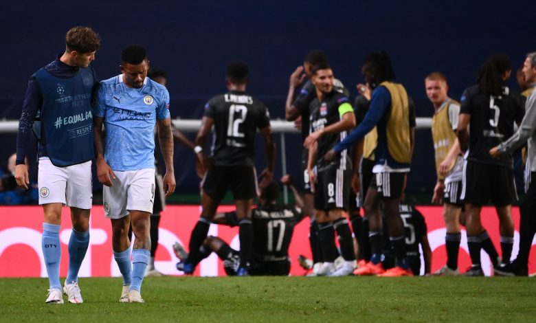 Lyon stun Manchester City to reach Champions League semifinals