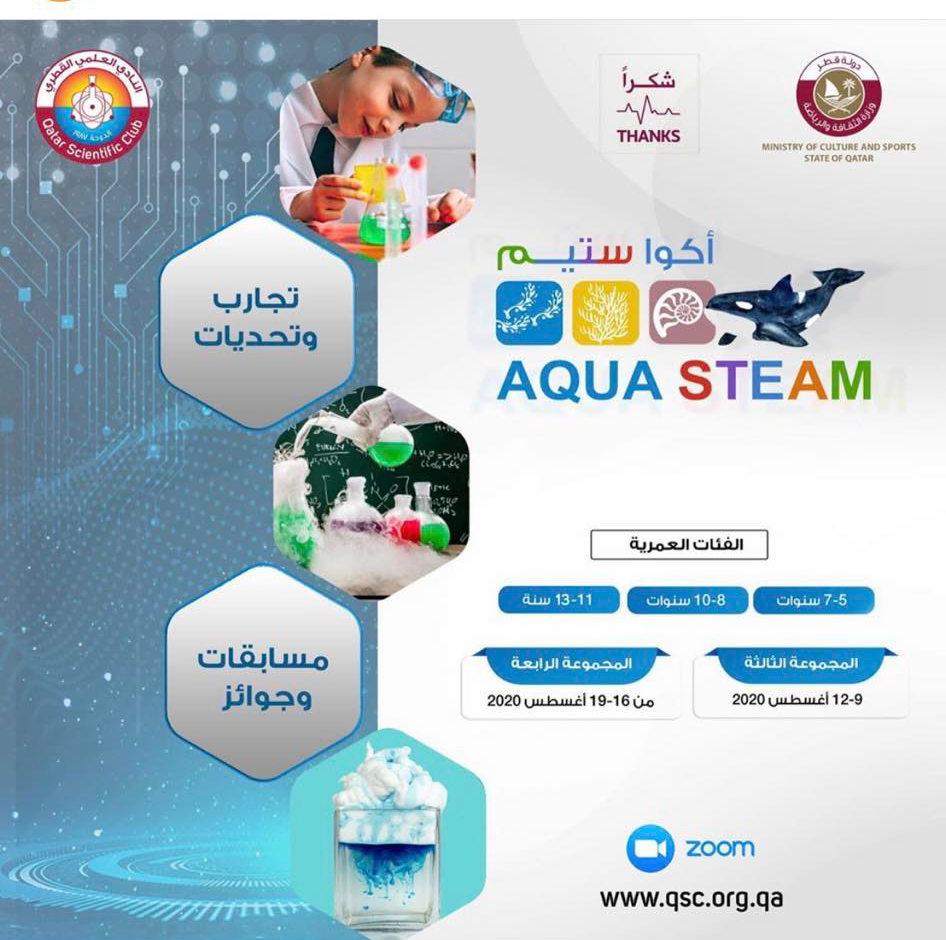 Doha Where & When .. Recreational and educational activities (Aug 14-16)
