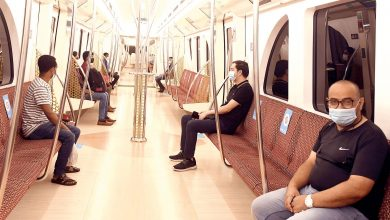 Photo of Hundreds of citizens and residents flocked to The Doha Metro on the first day of the resumption of operations
