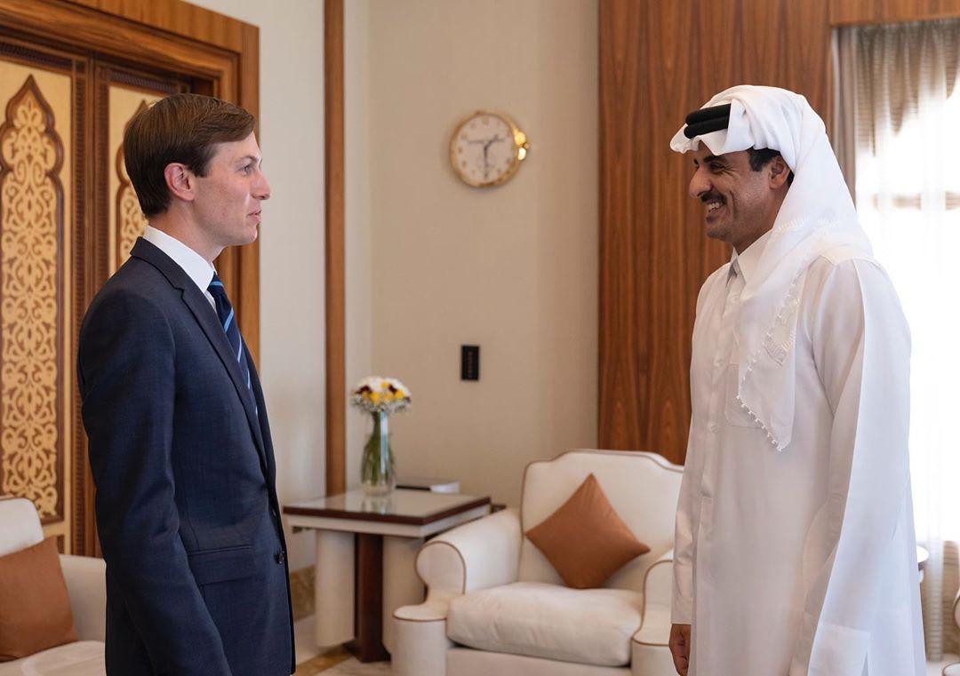 Amir Meets Senior Adviser to US President