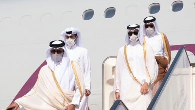 Photo of Amir Arrives in Kuwait