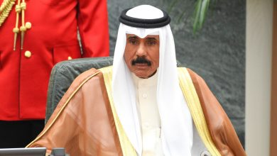Photo of H H Sheikh Nawaf named Amir of Kuwait