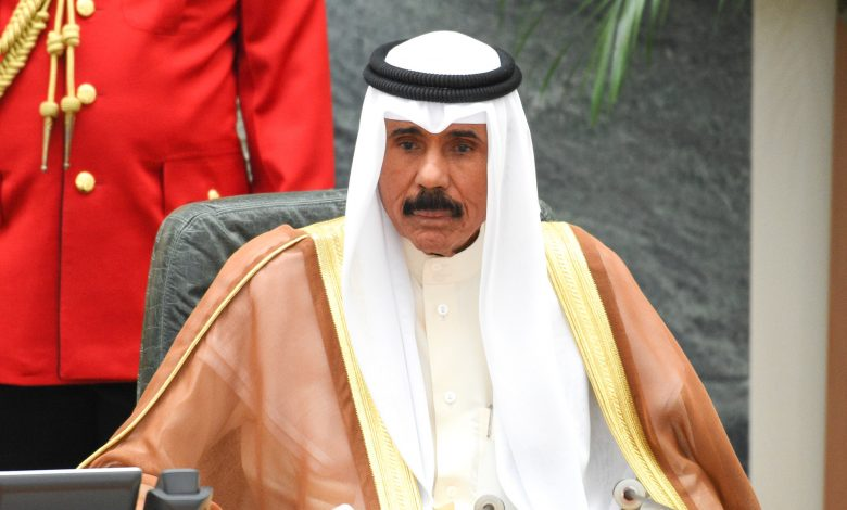 H H Sheikh Nawaf named Amir of Kuwait