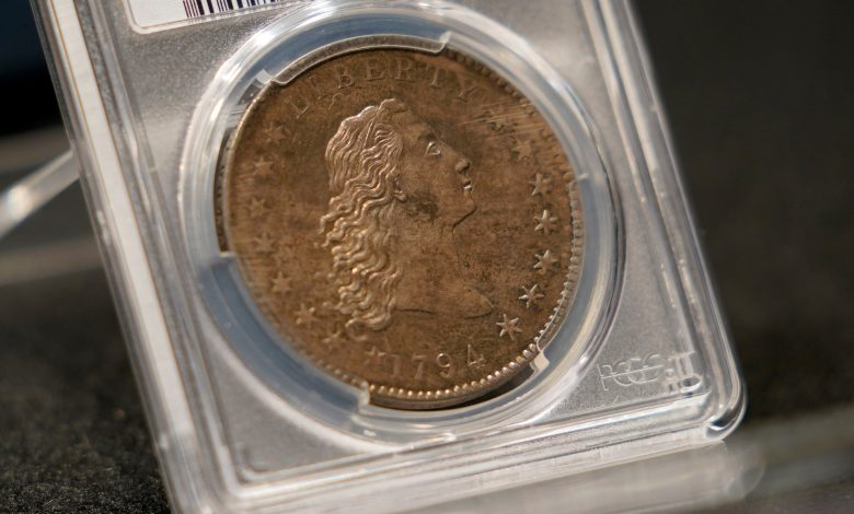 The world's most expensive coin is auctioned