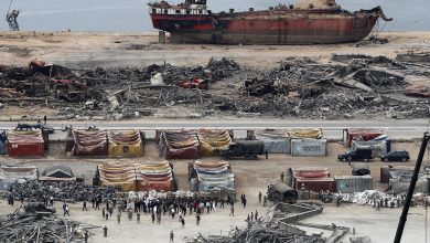 Photo of Before a new disaster occurs .. Lebanese Army finds 4 tons of ammonium near Beirut port