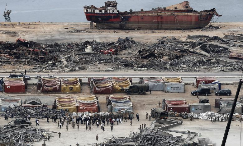 Before a new disaster occurs .. Lebanese Army finds 4 tons of ammonium near Beirut port
