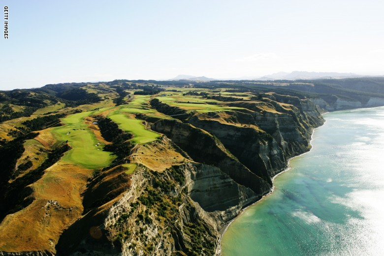 Not for the faint-hearted .. Here are the world's strangest golf courses amid snow and mountain peaks