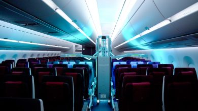 Photo of Qatar Airways is the first global company to use Honeywell devices to sterilize the cabin using UV rays