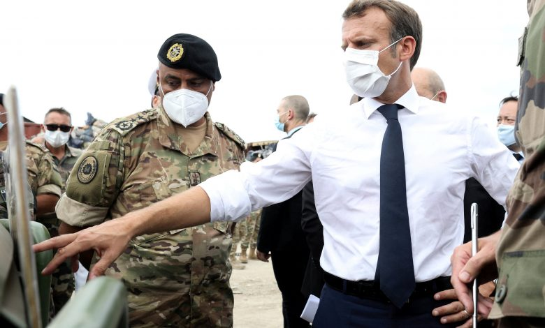 Macron's plane collision at Beirut airport .. What's the story?