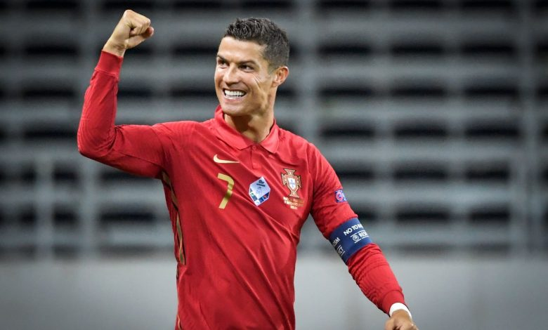 Ronaldo is the first European player to score 100 goals for his national team