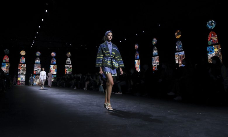 Dior restarts Paris fashion with a hug of comfort clothes