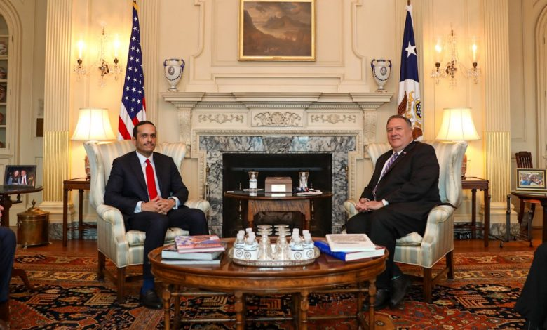 Minister of Foreign Affairs Meets US State Secretary