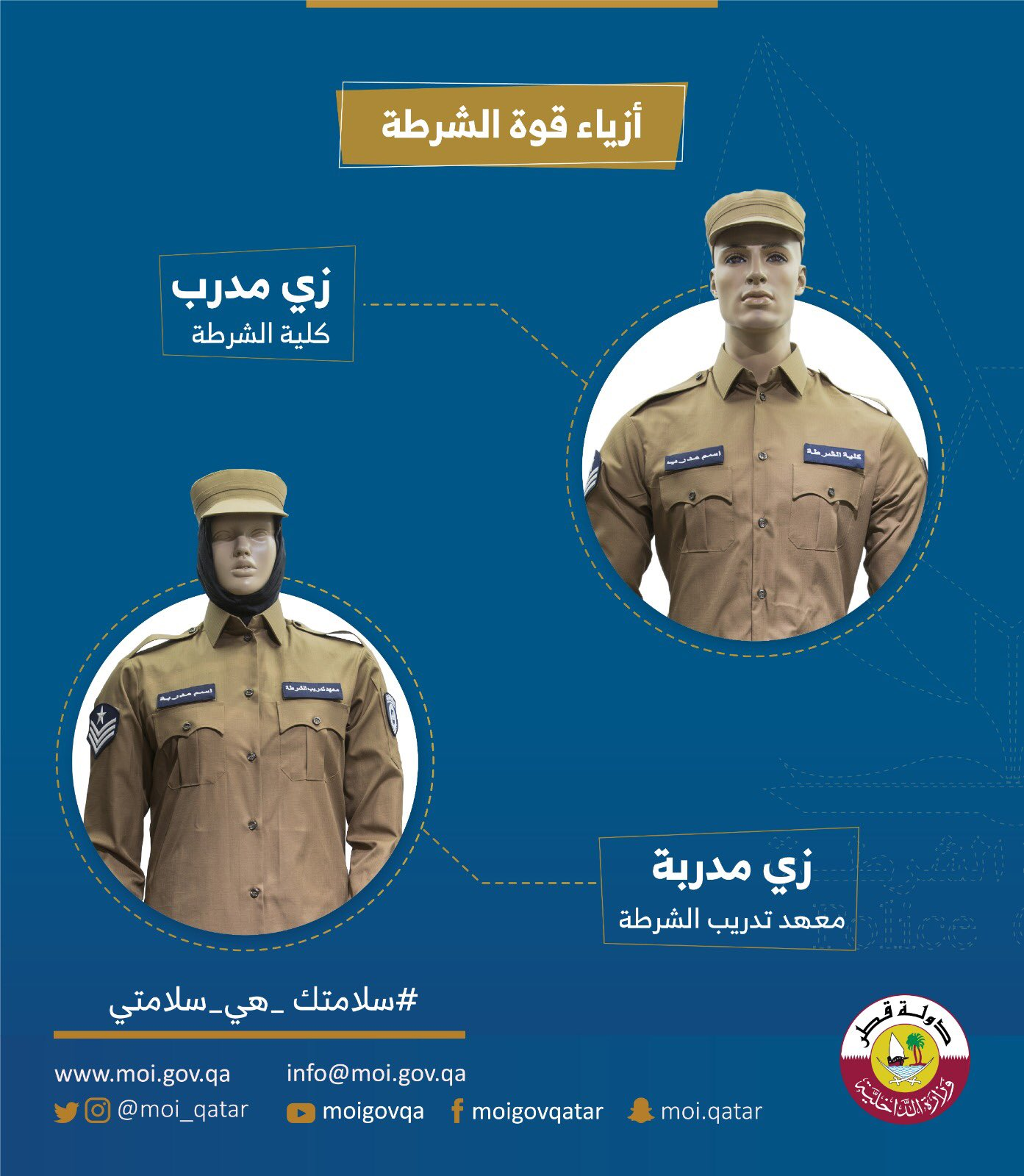 MoI unveils new uniforms for Qatar police