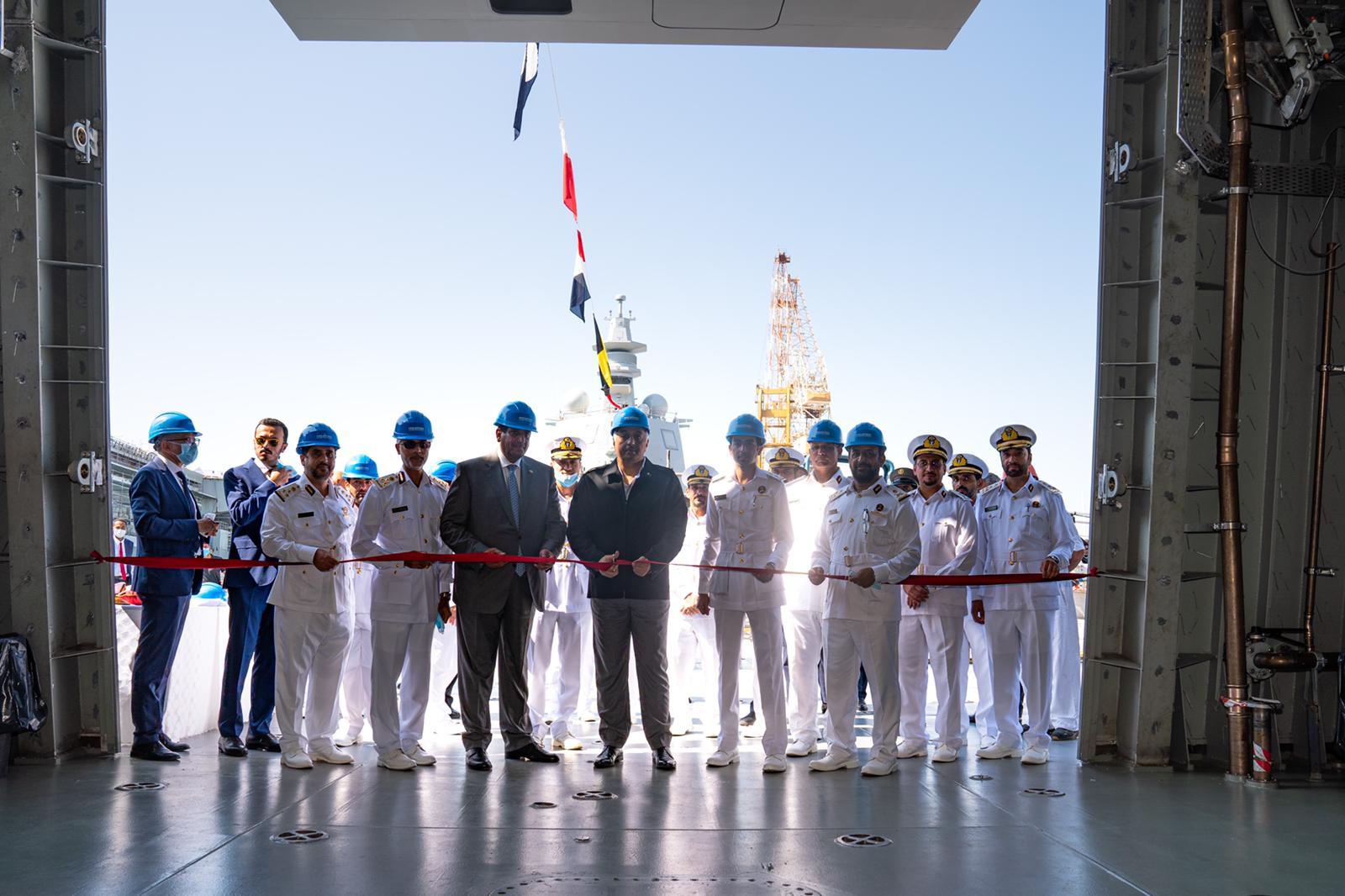 Defense Minister Participates in Inauguration Ceremony of Al Zubara Corvette, Msheireb Vessel in Italy