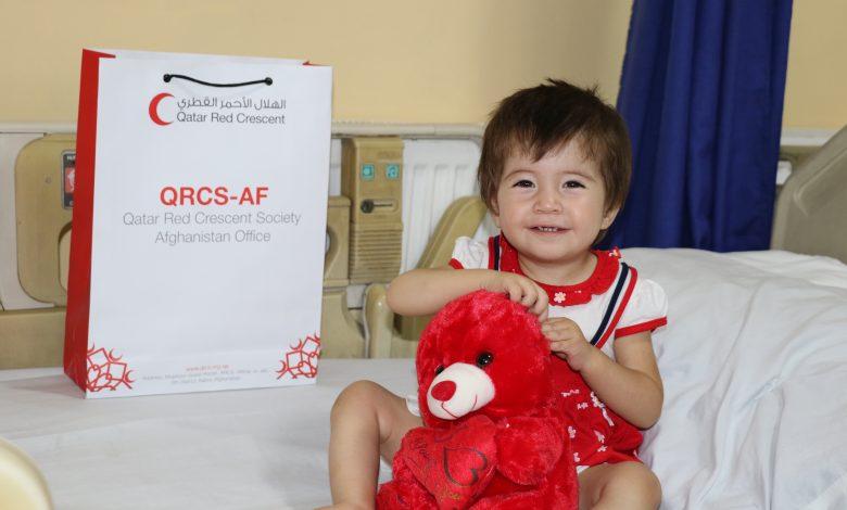 QRCS Treats Afghan Children with Congenital Heart Defects