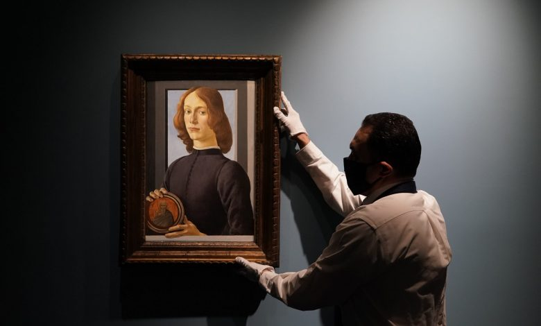 Botticelli's painting for $80 million