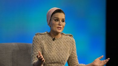 Sheikha Moza Attends 'Empowering Innovation'