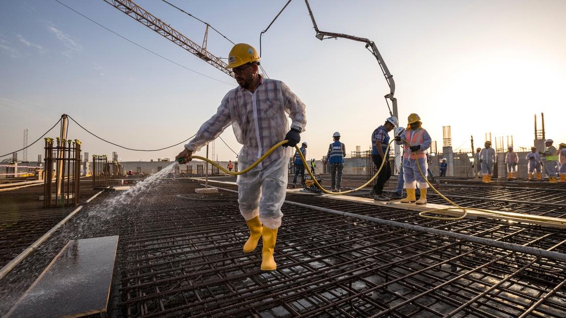 Al Thumama Stadium Completes 20 Million Working Hours without Injury