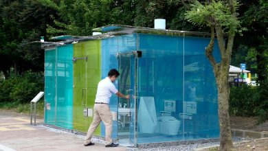 Photo of What is the secret of these transparent public toilets in Tokyo parks?