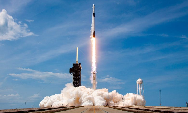 NASA launches U.S. manned spacecraft flight on October 31