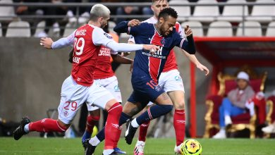 Photo of Paris Saint-Germain Beat Reims in French Football League