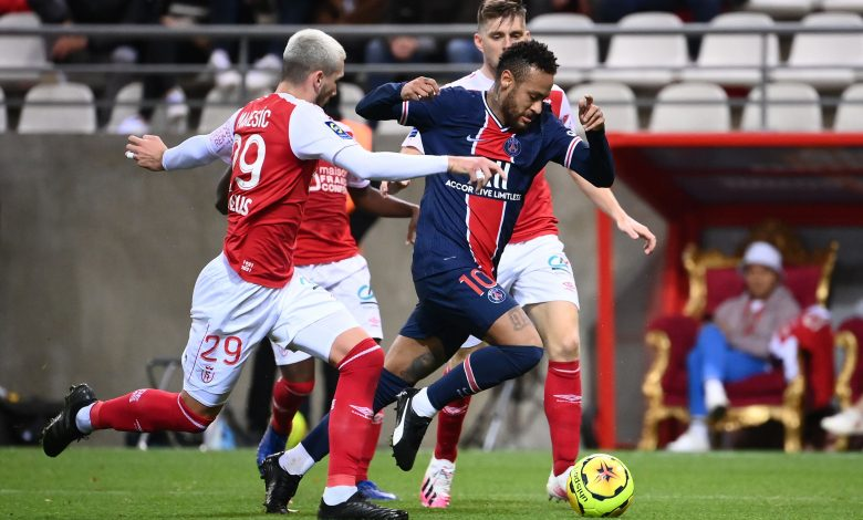 Paris Saint-Germain Beat Reims in French Football League