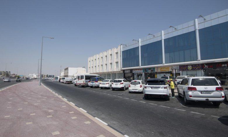 Completion of major works for the development of Wadi Al-Ghadiriyat Street