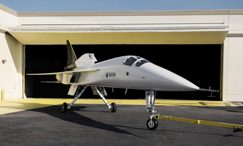 New supersonic passenger plane