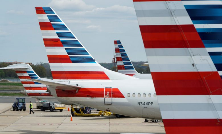 U.S. airlines aid deal Halted