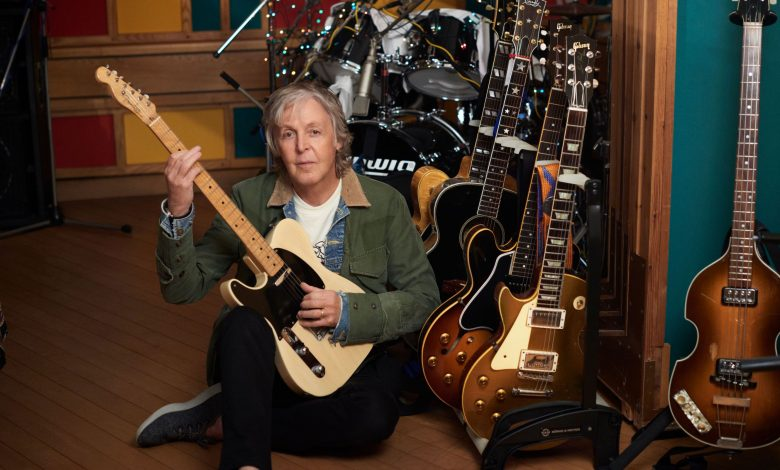Paul McCartney to release new lockdown album