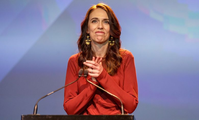 Ardern wins landslide in New Zealand's election