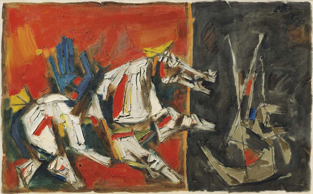 Arab Museum of Modern Art Launches Maqbool Fida Husain Artwork