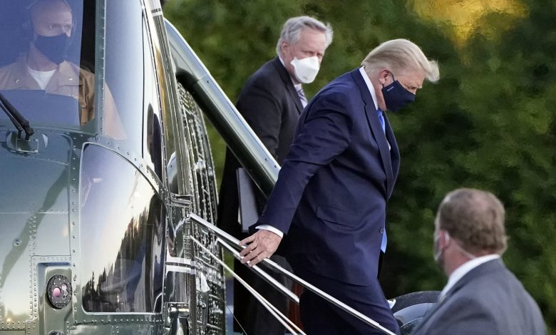 US President Leaves White House for Military Hospital after COVID-19 Diagnosis