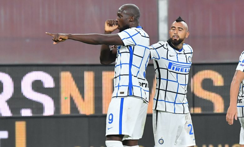 Inter back with a precious victory from Genoa