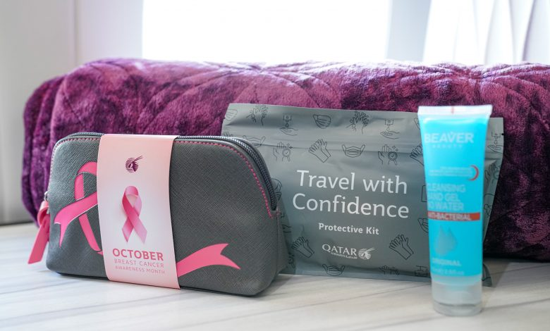Qatar Airways marks breast cancer awareness month